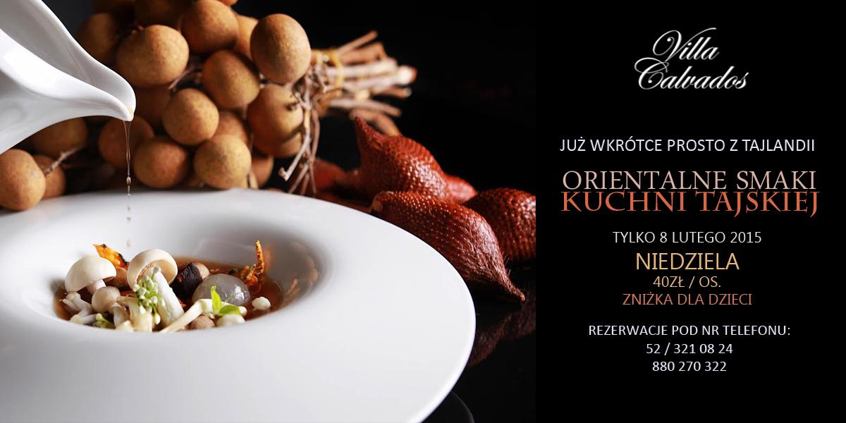 KUCHNIA TAJSKA - obiady niedzielne